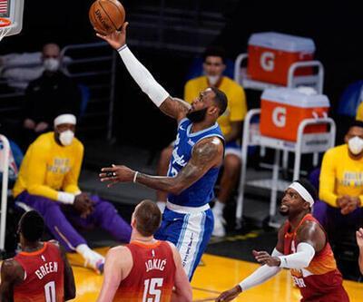 NBA'de Lakers, Nuggets karşısında LeBron James ile kazandı