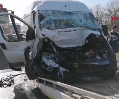 500 metre arayla iki farklı kaza
