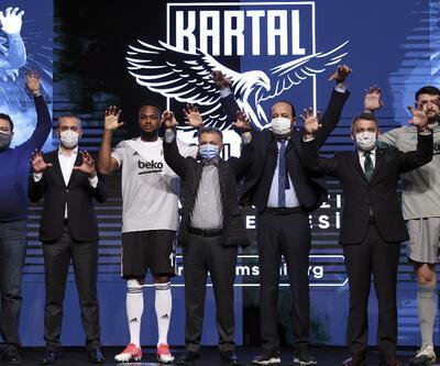 Beşiktaş'ın 'Bırakmam Seni' kampanyasının dijital projesi tanıtıldı