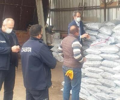 Bergama'da kömür satışı yapılan işletmelere denetim