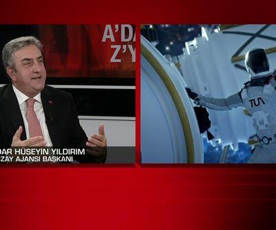 """""""Bir Türk uzaya gidecek"""" Uzay Ajansı Başkanı CNN TÜRK'te"""