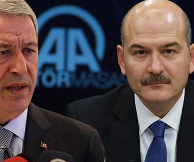 SON DAKİKA: Bakanlar Soylu ve Akar'dan CHP ve İYİ Parti'ye ziyaret