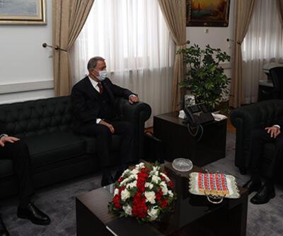 Bakan Akar ve Soylu, siyasi partileri ziyaret etti