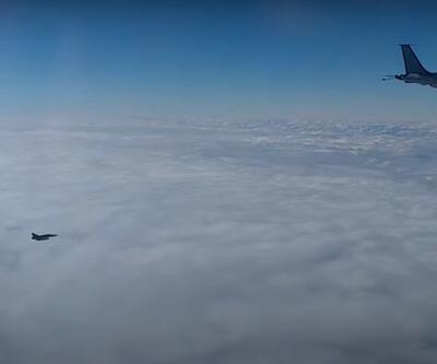 Karadeniz'de gerilim: Rus ve Fransız uçakları karşı karşıya