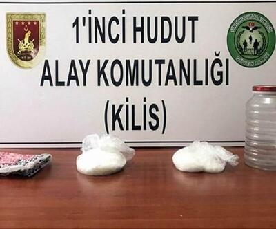 Kilis'te, uyuşturucu ele geçirildi