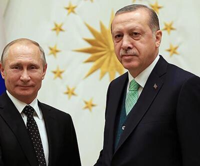 SON DAKİKA: Cumhurbaşkanı Erdoğan, Putin'le görüştü