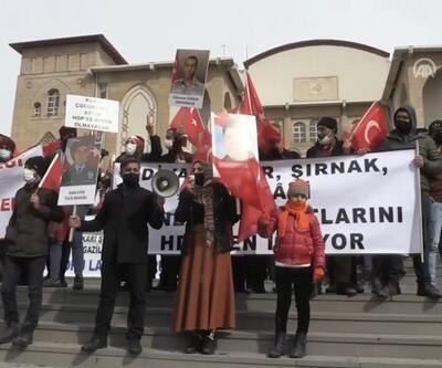 Hakkari'de Gara katliamına tepki yürüyüşü