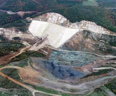 Karacabey Yeşildere Barajı'nın yapımı sürüyor