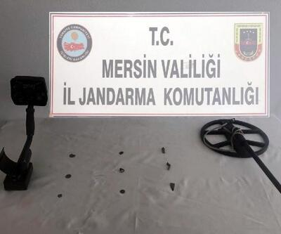 Gülnar'da tarihi eser operasyonu: 3 gözaltı