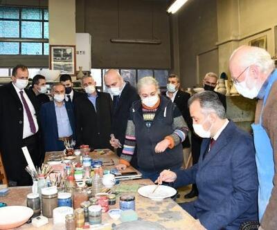 Bursa Büyükşehir Belediye Başkanı Aktaş, İznik'i ziyaret etti