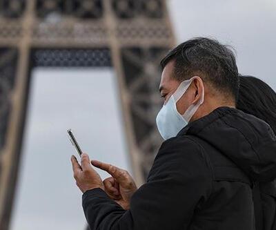 Fransa'da son 24 saatte 20 bin 64 Kovid-19 vakası kaydedildi