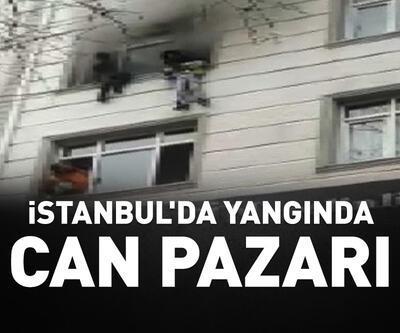 İstanbul'da yangında can pazarı
