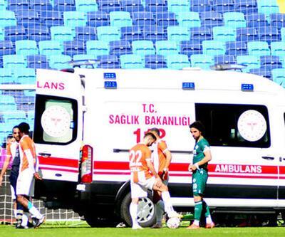 Adanaspor kalecisi Karacic maçta fenalaştı!