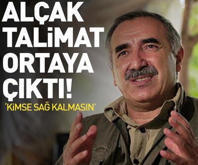 Murat Karayılan'ın kan donduran talimatı