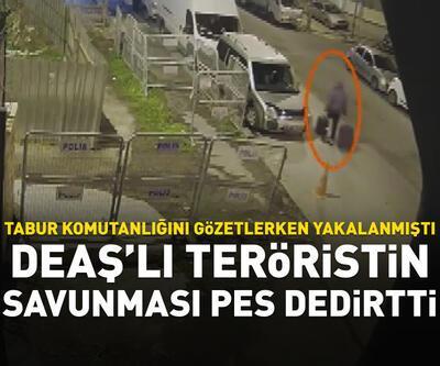 İstanbul'da askeriyeyi gözetleyen DEAŞ'lı yakalandı