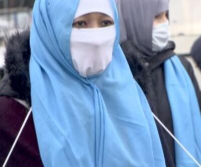 Uygur Türklerinden eylem