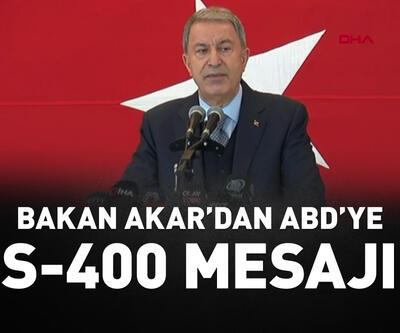 Akar: S-400'ü NATO sisteminden bağımsız, müstakil kullanacağız.