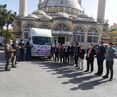 Anamur Müftülüğü'nden İdlib'e destek