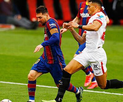 Barcelona Sevilla'yı 2 golle geçti!