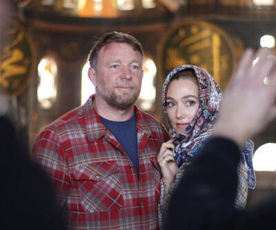 Ünlü yönetmen Ritchie, Ayasofya'yı gezdi
