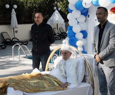 Aydemir Akbaş film gereği sünnet oldu: