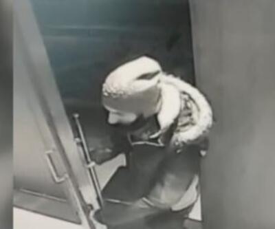 Ayakkabı hırsızları kamerada