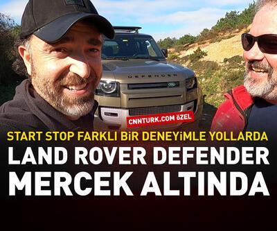 Land Rover Defender mercek altında