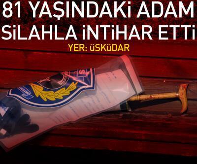 Üsküdar'da 81 yaşındaki adam silahla intihar etti