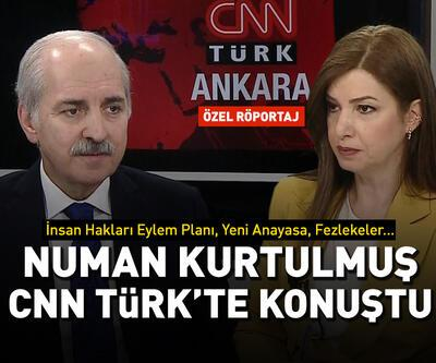 AK Parti Genel Başkanvekili Numan Kurtulmuş CNN Türk'te