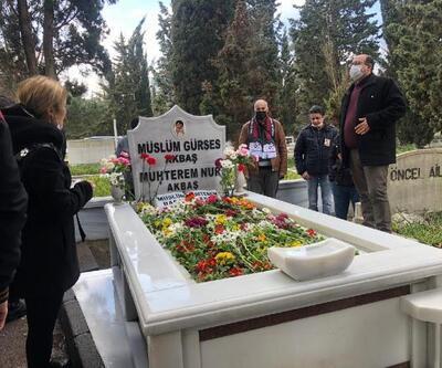 Müslüm Gürses ölümünün 8. yılında mezarı başında anıldı
