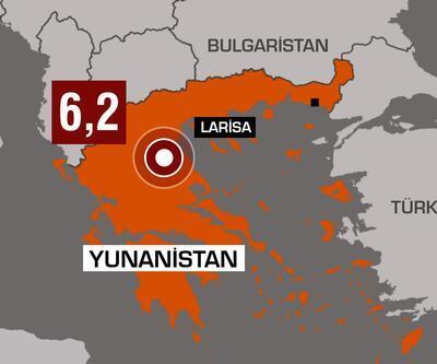 Son dakika... Yunanistan'da 6.2 büyüklüğünde deprem