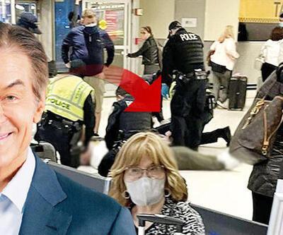 Dr. Öz havalimanında hayat kurtardı