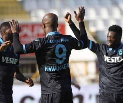 Trabzonspor zirveyi bırakmıyor