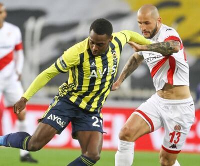 Fenerbahçe sahasında puan bıraktı