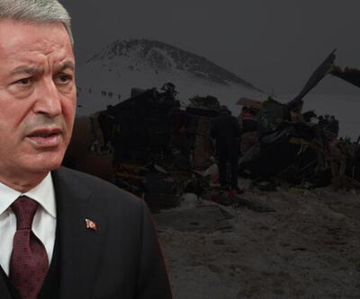 11 askerin şehit düştüğü helikopter kazası neden oldu? Bakan Akar'dan konuya ilişkin açıklama