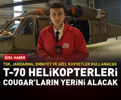 T-70 helikopterleri Cougar'ların yerini alacak