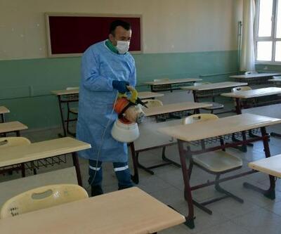 Aliağa'daki tüm okullar dezenfekte edilecek