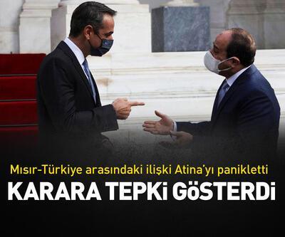 Mısır-Türkiye arasındaki ilişki Atina'yı panikletti