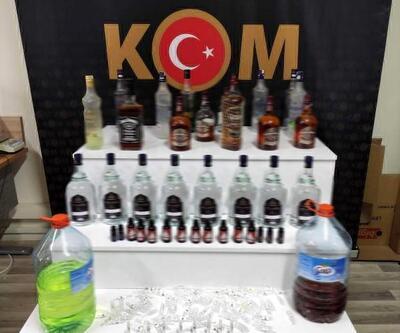 Mersin'de içki operasyonu: 1 gözaltı