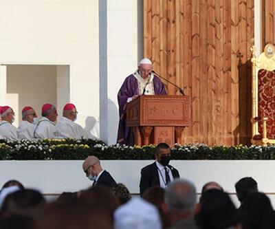 Papa, Erbil'deki ayine katıldı