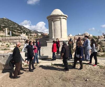 Knidos Antik Kenti turist rehberlerine tanıtıldı