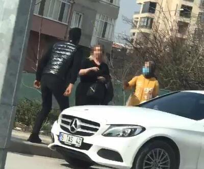 Kadınlar Günü'nde erkek arkadaşı tarafından saçında tutulup yerde sürüklendi