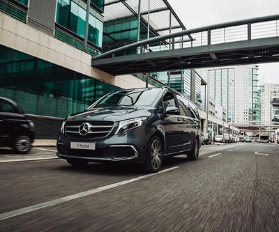 """Mercedes'in yeni """"V-Serisi"""" tanıtıldı"""