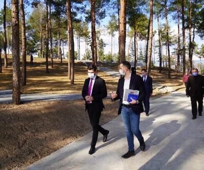 Başkan Karagöl: Çamlık Koru Park mayısta açılacak