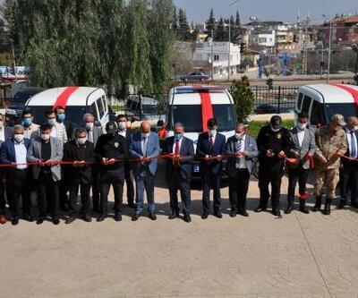Reyhanlı'da hayırsever iş insanlarından Emniyet Müdürlüğü'ne araç desteği