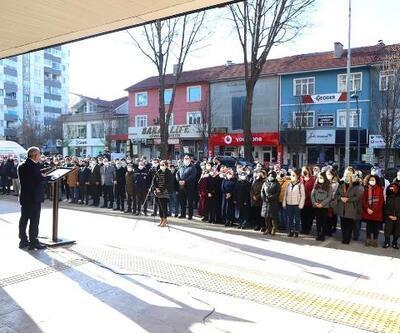 Çankırı'da, '100'üncü Yılda 100 Hoparlörden İstiklal Marşı' etkinliği