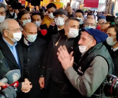 "CHP liderine ""bozuk yol"" tepkisi"