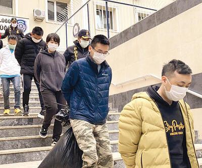 Çin işi vurgun: Binlerce km öteden gelip İstanbul'da sahte çağrı merkezi kurdular!