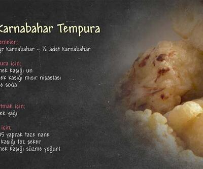 Karnabahar Tempura Tarifi - Karnabahar Tempura Nasıl Yapılır?