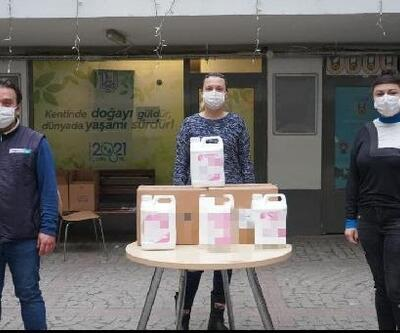 Lüleburgaz Belediyesi'nden kahvehanelere dezenfekte desteği